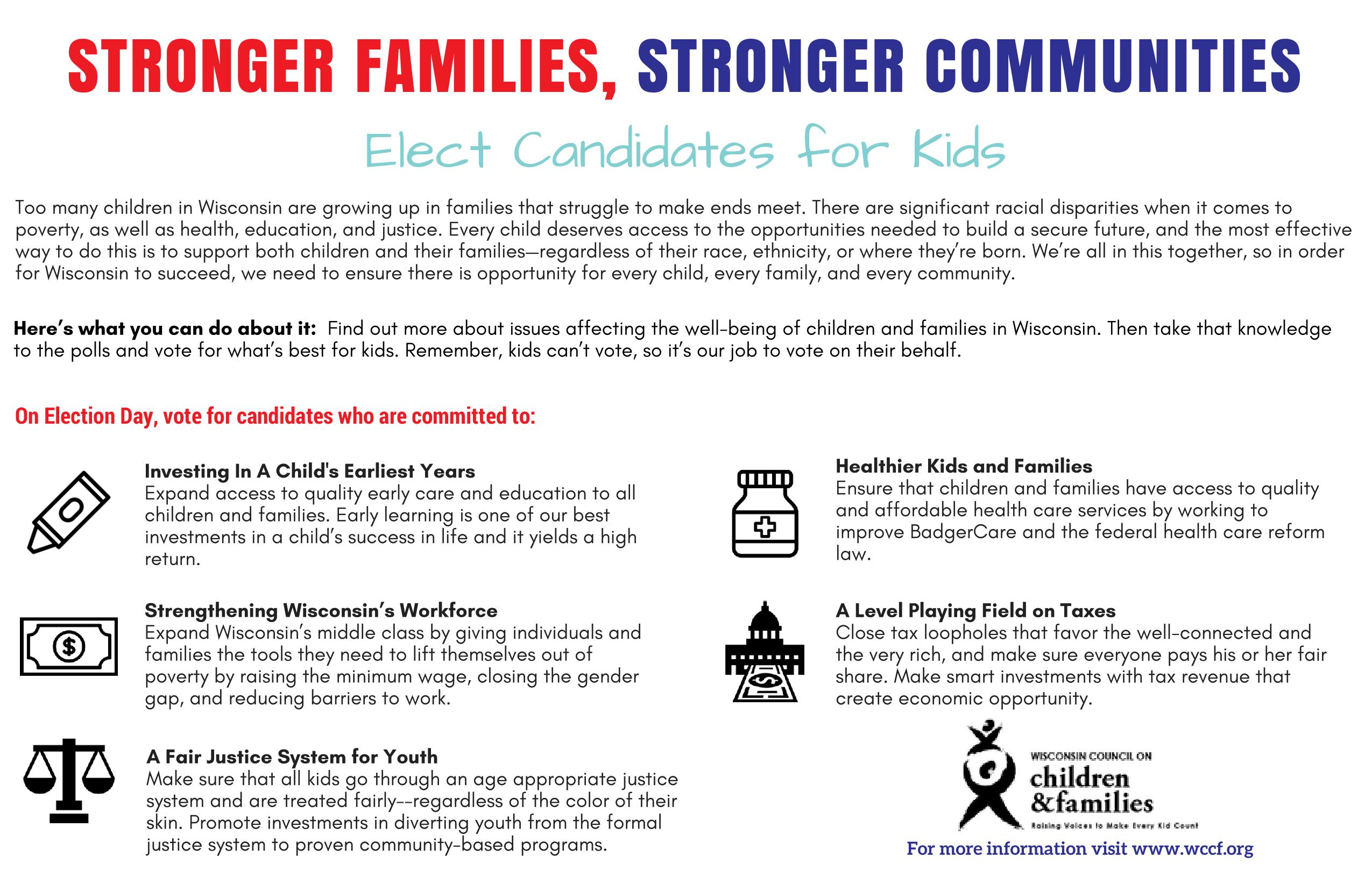 Leveling Playing Field For Our Kids >> Elect Candidates For Kids Wccf